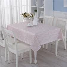 plastic table covers for weddings new plastic table cloth pink floral printed waterproof oilproof pvc