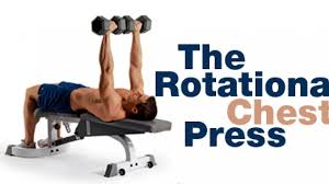 How To Do Dumbbell Bench Press The Rotational Chest Press Men U0027s Fitness