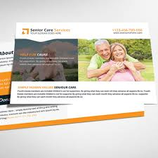 senior care postcard psd template template free download on pngtree