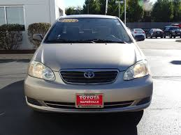 lexus of naperville service department pre owned 2005 toyota corolla le 4d sedan in naperville r3101a