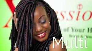 how to style xpressions hair multi by x pression youtube