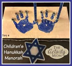 childrens menorah hanukkah is coming up and a great way to get your kids excited is to