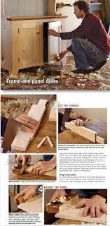 How To Build A Cabinet Door Frame Frame And Panel Doors Cabinet Door Construction