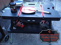 4 ways to use your husky folding table father u0027s day giveaway