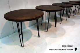 round hairpin coffee table hairpin coffee table