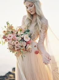 blush wedding dress lace wedding dress inspiration by payne photography