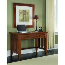 home styles arts u0026 crafts cottage oak desk 5180 16 the home depot