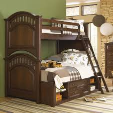 your zone twin over full wood bunk bed walnut walmart com beds
