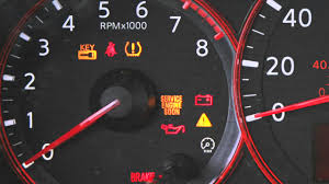2012 nissan altima warning and indicator lights youtube