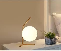 minimalist bedside table minimalist art decor ball table l geometry abstract design