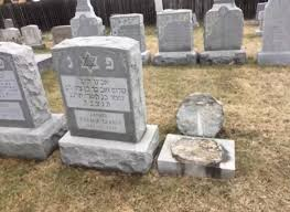 grave stones gravestones vandalized at upstate new york cemetery ny daily news