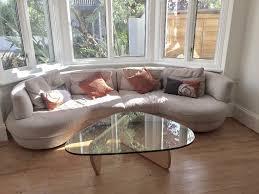 round sofa natuzzi rondo italian designer large bean shaped round sofa ideal
