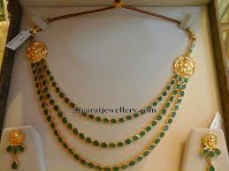 emerald necklace sets images 3 step emerald necklace 55grams gold models pinterest jpg