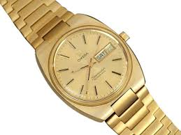 gold omega bracelet images Omega gold 1978 seamaster vintage mens bracelet day date watch jpg