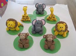 safari cake toppers safari animals cupcake toppers a photo on flickriver