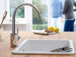 grohe europlus kitchen faucet sink u0026 faucet pull out faucet hole kitchen faucet grohe kitchen