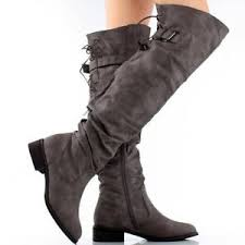 womens boots ebay knee high flat boots ebay
