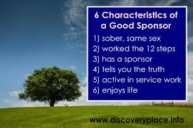 sponsorship in aa 6 characteristics of a good sponsor