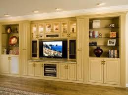 Kitchen Cabinet Entertainment Center Create An Entertainment Center With Stock Kitchen Cabinets