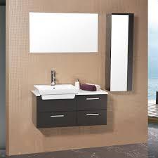 Fresca Bathroom Accessories Fresca Bath Fvn6163es Caro Vanity With Mirrored Side Cabinet