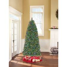 time pre lit 7 5 thompson fir artificial tree