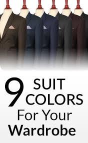 9 suit colors for a man u0027s wardrobe men u0027s suits u0026 color which