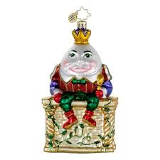onsale radko before the fall humpty dumpty egg king glass