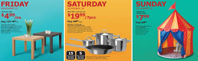 cookware black friday deals ikea black friday deals 2012 items starting at 1 99 free meals