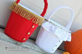 halloween buckets for trick or treating make it and love it