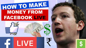 How To Earn Money From Hindi How To Make Money From Facebook Live Ads Earn Online