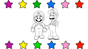 super mario run coloring pages for kids coloring book for kids