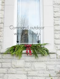 christmas swags for outdoor lights garland hack and how to make and hang window christmas swag