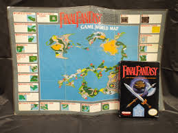 nes final fantasy with original world map dkoldies blog