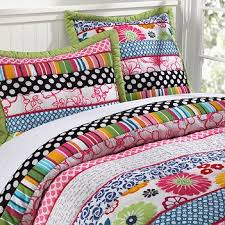 Pottery Barn Tropical Bedding Pottery Barn Teen Quilt Graphic Pop Twin Euro Sham New Teen