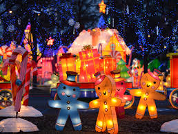 the best christmas light displays in california fancy shanty