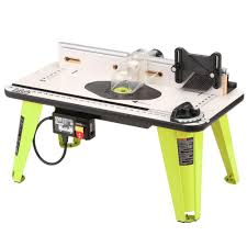 ryobi 32 in x 16 in intermediate router table a25rt02g the