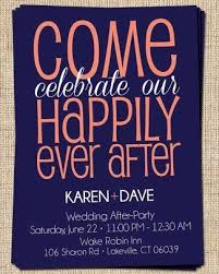 wedding invitation wording for already married 25 best elopement reception ideas on elopement party for