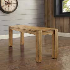 Rustic Bench Dining Table Better Homes Gardens Bryant Solid Wood Dining Bench Rustic