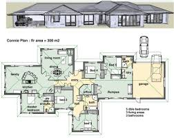 single story modern house plans simple blueprints home design