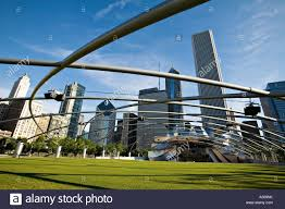 illinois chicago pritzker pavilion in millennium park designed by