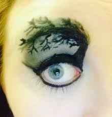 sparebitofsparkle halloween eye makeup