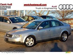 audi a4 2004 silver 2004 audi a4 1 8t quattro sedan in light silver metallic 057618