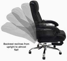 Reclining Folding Chair With Footrest Reclining Office Chair W Footrest