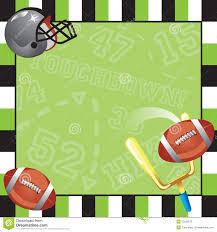 football party invitation card royalty free stock image image
