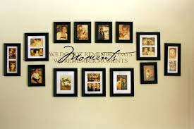 wall ideas photo canvas wall collage ideas beautifully styled