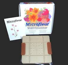 flower press microfleur 5 13 cm microwave regular flower press
