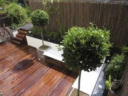 Rooftop Garden Design Exteriors Open Plan Terrace Roof Garden Design Ideas With Red