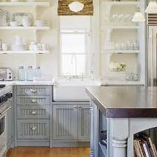 blue and gray cottage kitchen design ideas