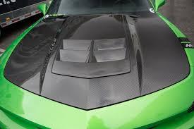 camaro zl1 carbon fiber insert 2013 2014 trucarbon camaro zl1 carbon fiber lg162 scoop tc30022 lg162