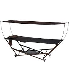 Diy Portable Hammock Stand Portable Hammock At Qvc Gift Possibilities Pinterest